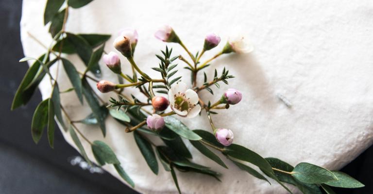 blommor till minnesstund